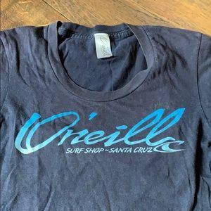 o'neill t shirt navy blue
